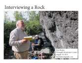 Interviewing a Rock cover