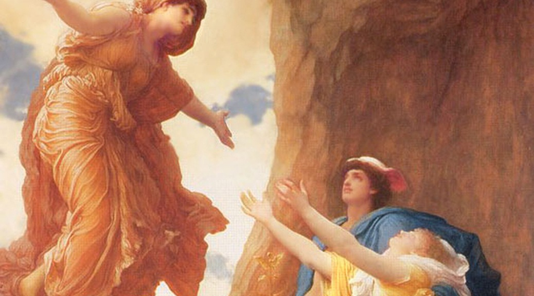 Frederic Leighton, The Return of Persephone (1891)