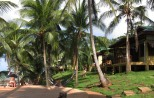 Upscale Yemaya lodge hosts yoga retreats.