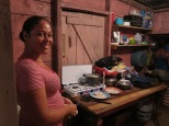Hetty Catrall Padilla in the kitchen where she creates excellent meals