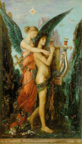 Gustave Moreau, Hesiod and the Muse (1891)—Musée d'Orsay, Paris