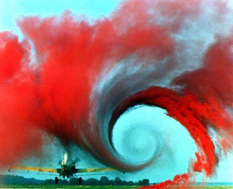 aircraft wake vortex