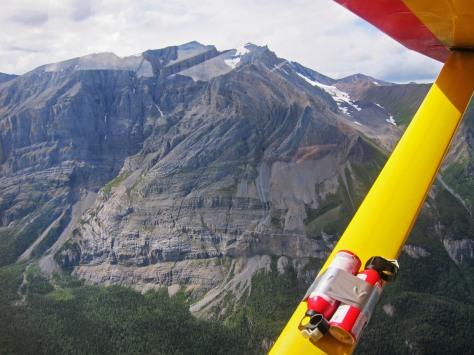 Mile High Cliffs limestone folded Skolai 2014 175
